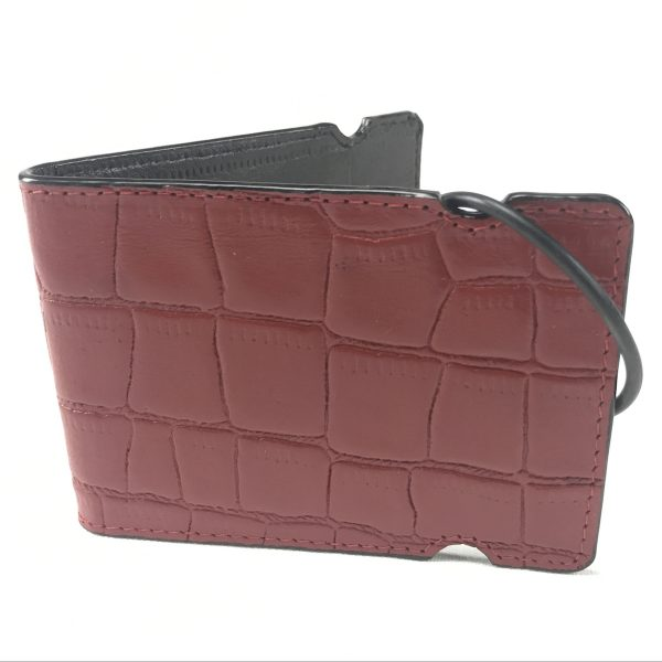 New Red Croc Cash Cover